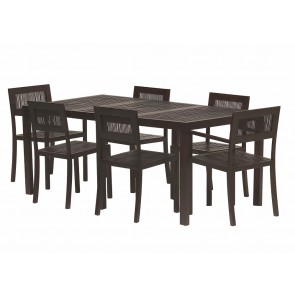 HALF PRICE! Tropea Dining Table And 4 Dining Chairs
